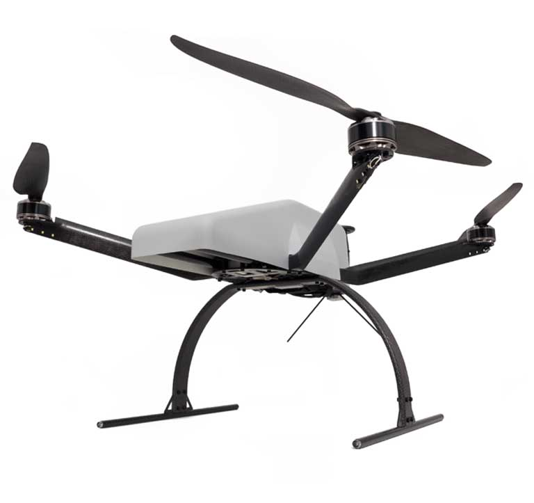 Ultra Lightweight birdpilot X-4 Multicopter